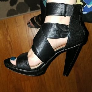 MICHAEL Michael Kors Strappy Leather Heel